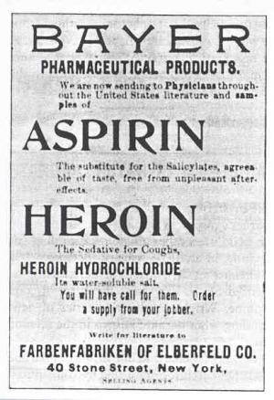 Bayer Heroin Ad