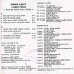 Sinan Sakic - Diskografija 36821830_Kaseta_Zadnja